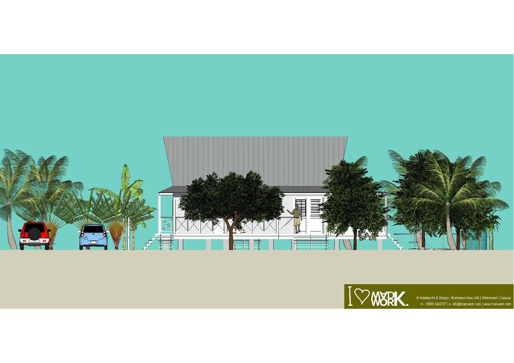 Eco Beach House 3D Design (1)