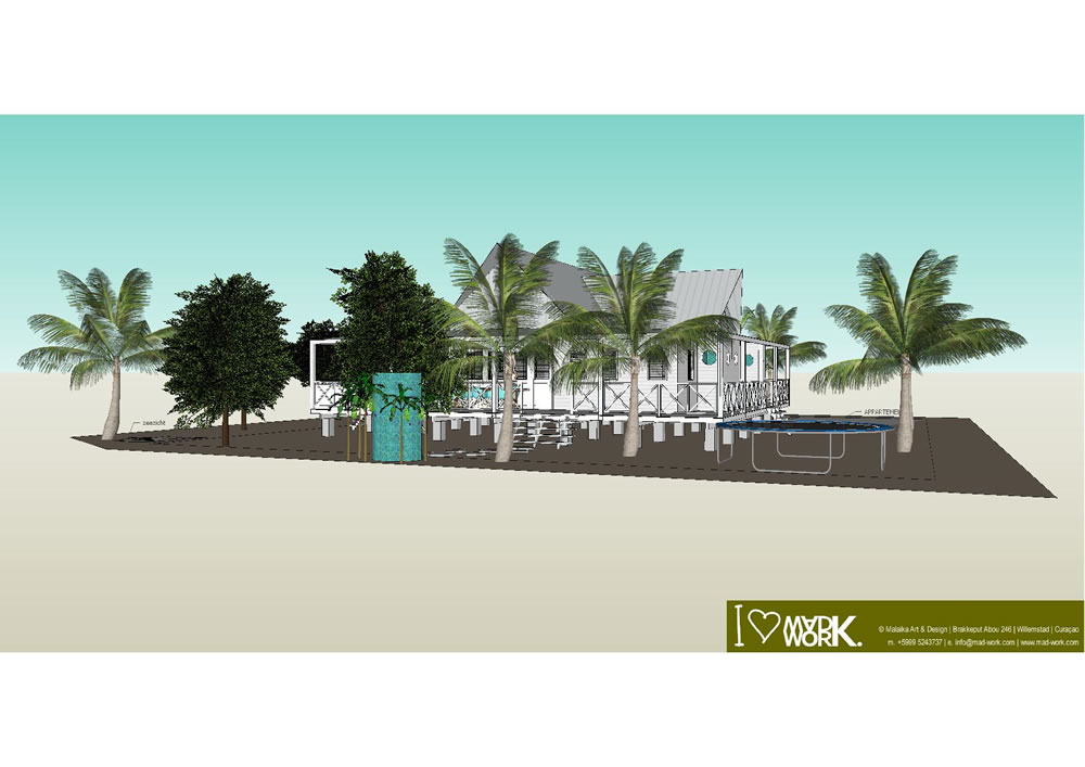 Eco Beach House 3D Design (2)
