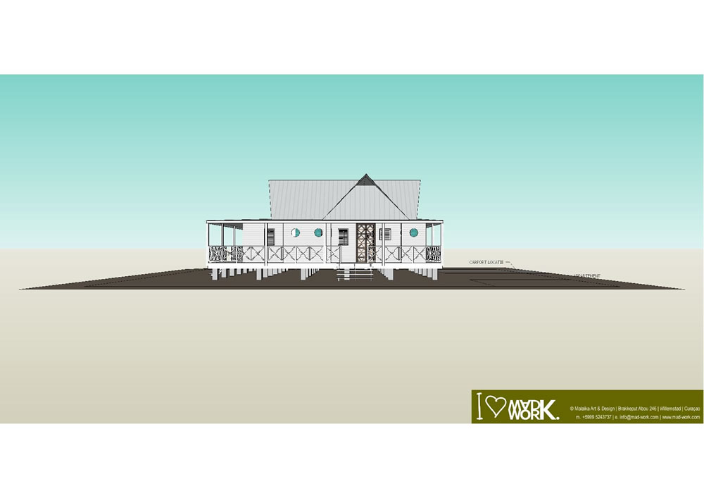 Eco Beach House 3D Design (4)