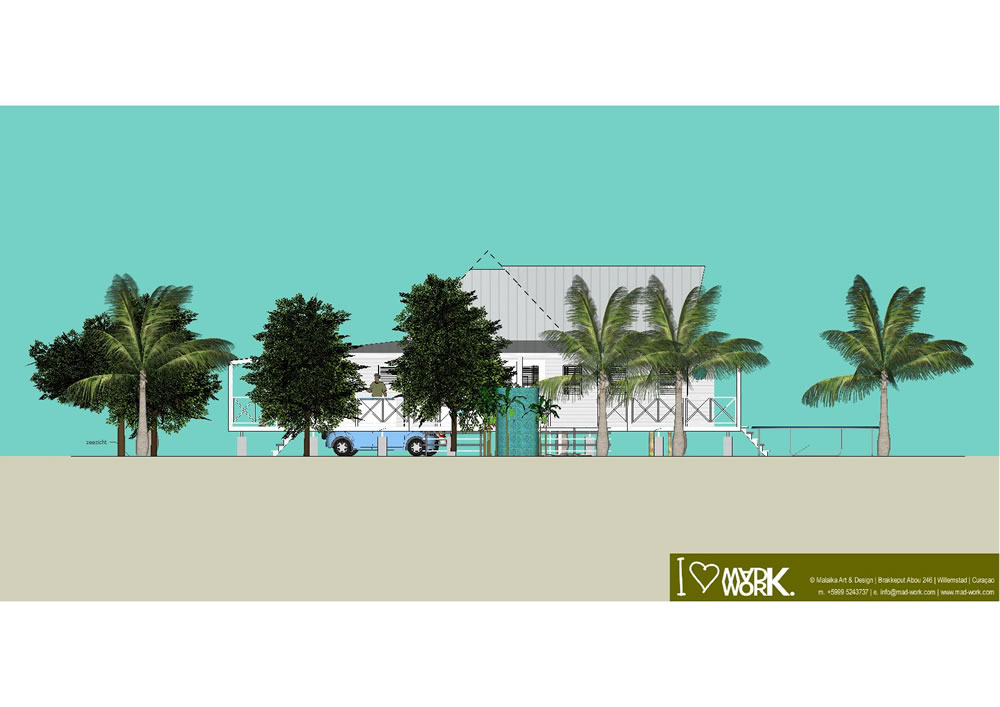 Eco Beach House 3D Design (6)