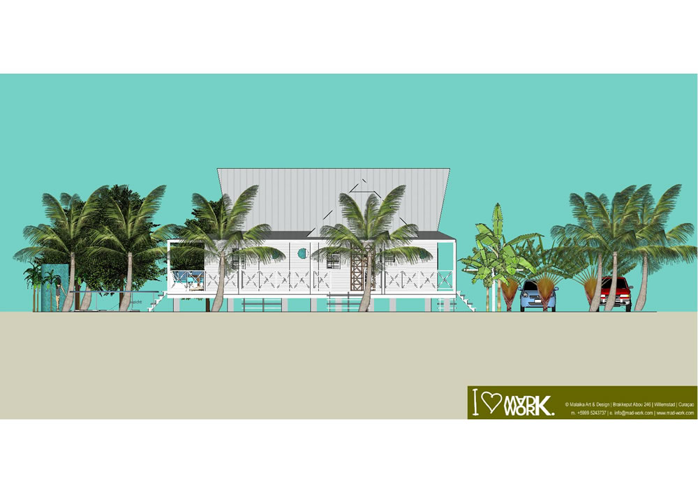 Eco Beach House 3D Design (7)