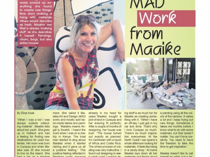 Amigoe Express: MAD Work from Maaike